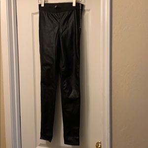 H&M faux leather pants. Size 6.